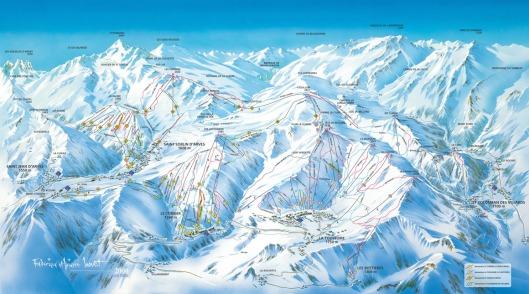 skigebied 'Les Sybelles'