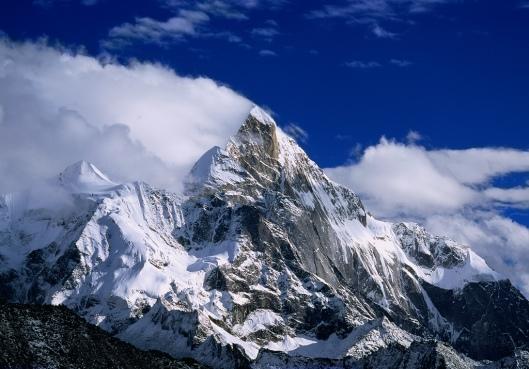 noordwest wand Siguniang (6250m)