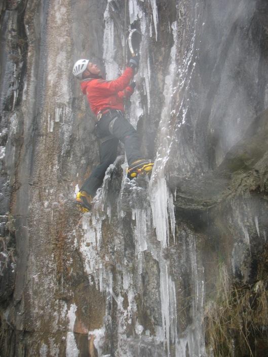 Sanne in Yannick's ice paradice M6
