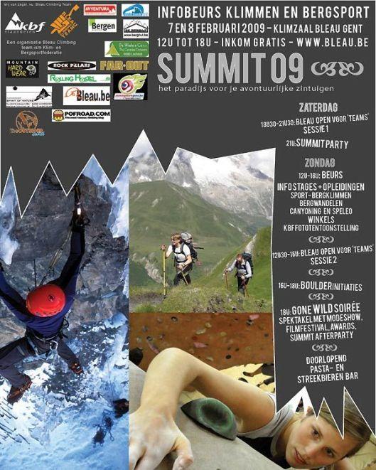 affiche summit '09