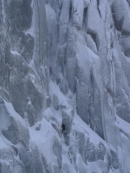 mixte klimmen in de Lofoten