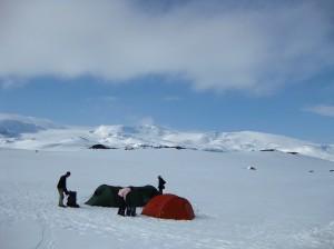 Wintertrekking Noorwegen
