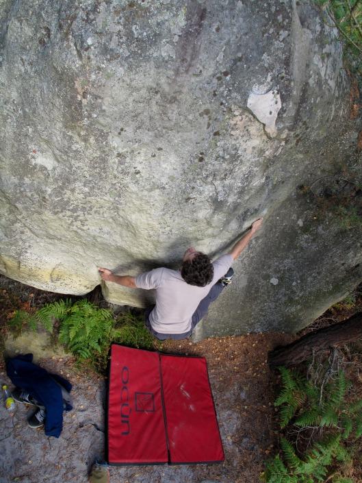 David vs. Goliath - Frank ontdekt wat een 'morphologische' boulder is