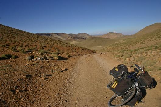 Fietsen in de Atlas, Marokko