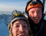 Sam en jonas op de top