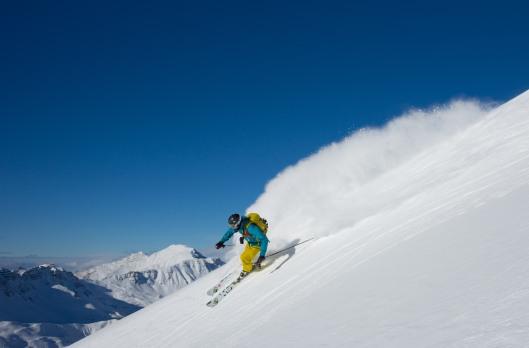Zon, sneeuw en een goede fotograaf, wat heb je nog meer nodig? (c) Rogier Van Rijn