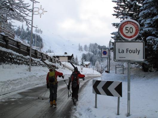 David en Frank op ontdekking in La Fouly, Val Ferret, Zwitserland  (c) YdB