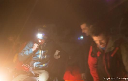 Nog geen 2uur in Kosovo en al op een sneeuwscooter, sterke start!