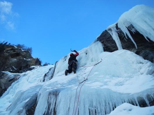 Stijn op dun ijs in Lauson