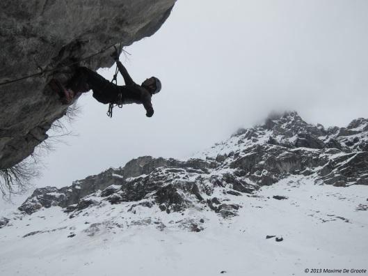 Olivier klimt vlot in M8 !