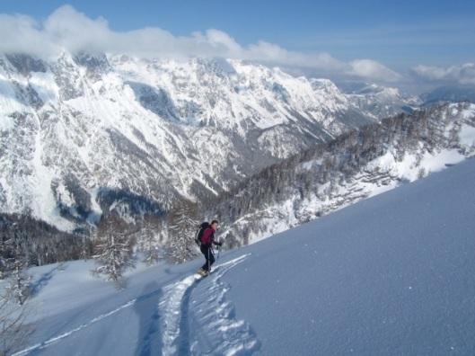 Op skitour in Berchtesgaden ©Sanne
