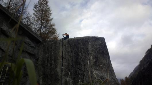 Oostenrijkse Berggids Andreas Klein topt de Kosterlitz © Jeroen