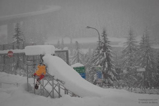 Klimmer / snowboarder / freestyler Bram