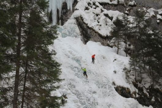 The one climbable pitch in Sottoguda ©Sanne