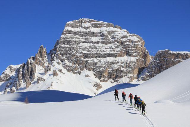 Wonderful ski touring in the Dolomites ©Sanne
