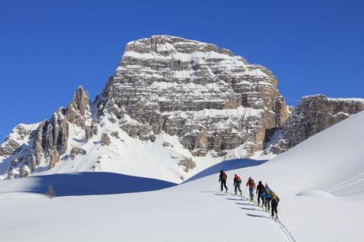 Wonderful ski touring in the Dolomites ©Sanne