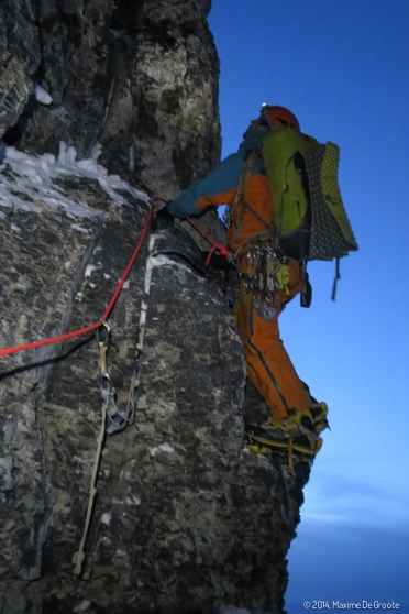 Last pitch for the day, brittle crack