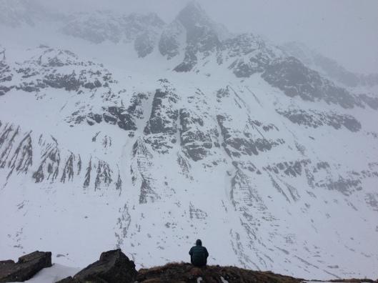 Ontspanning na skitour ©Kristof
