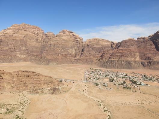 Wadi Rum village.