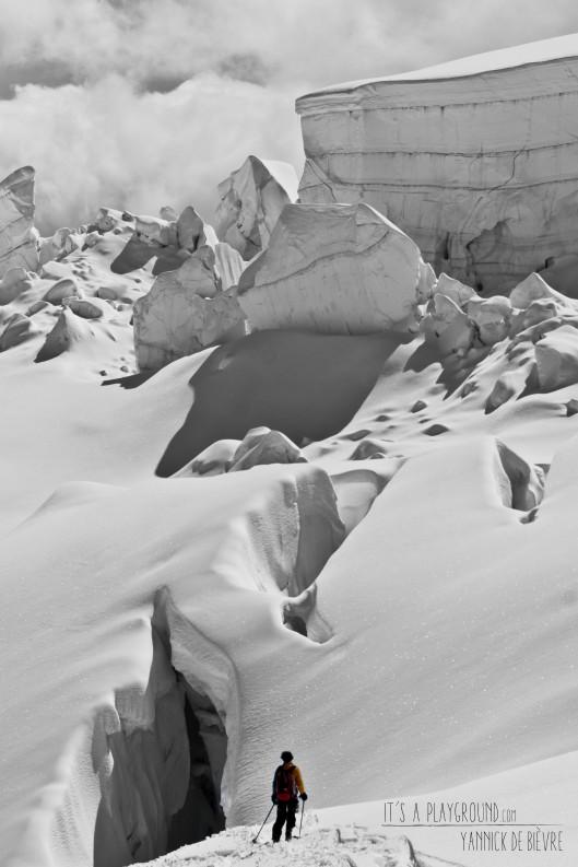 Argentière gletsjer