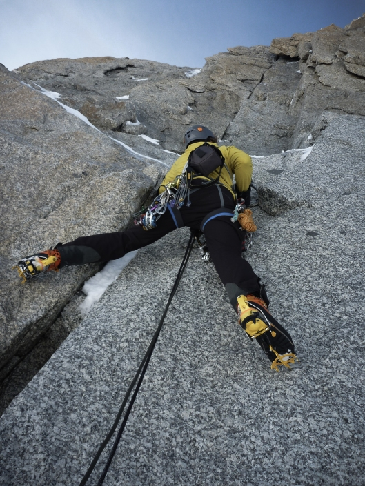 Ik wil klimschoenen... Geen crampons (foto: Stijn Dekeyser)