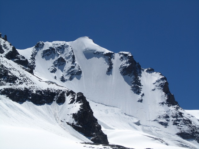 Gran Paradiso NW-face in excellent conditions ©Sanne