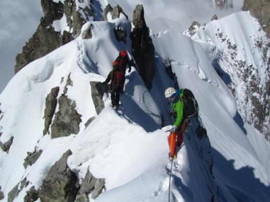 classic ridge climbing ©Sanne