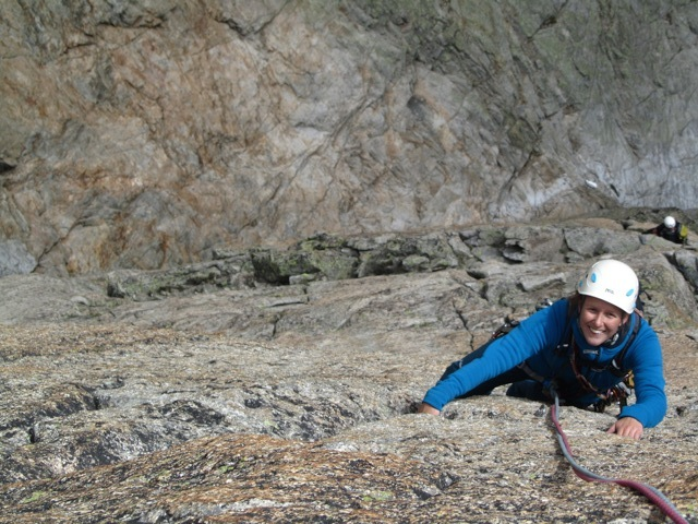 An in the crux of Cristallina ©Sanne