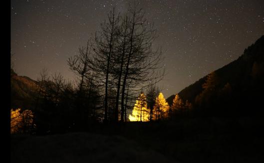 Prachtige sterrenhemel