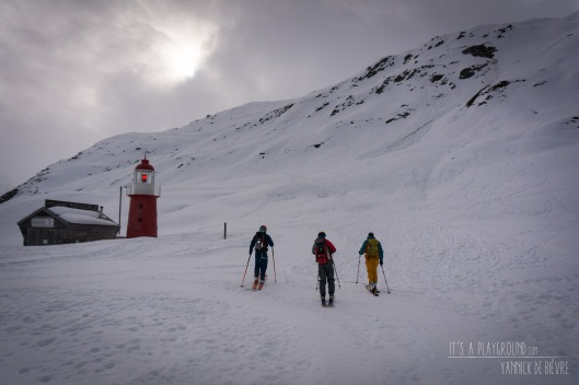 Op pad boven de Oberalppas