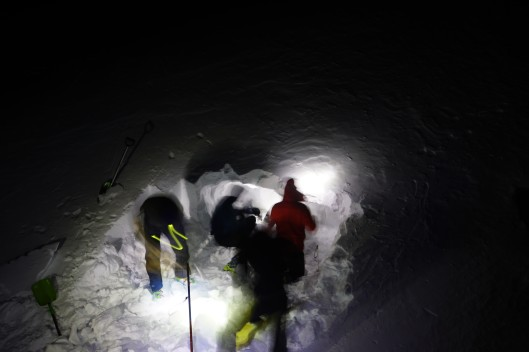 diggin cave