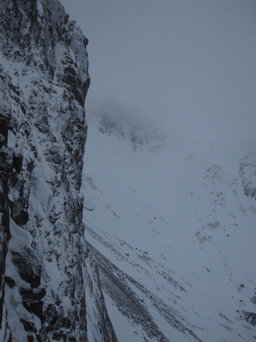 The beautiful Cairngorms as seen from our climb. We're looking straight at the route Nick and Stan did. Denis (c)