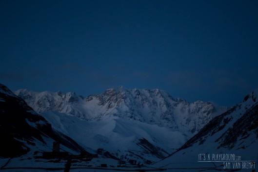Shkara (5139m), de hoogste berg van Georgië