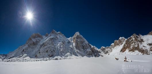 A look on the Barnaj Glacier