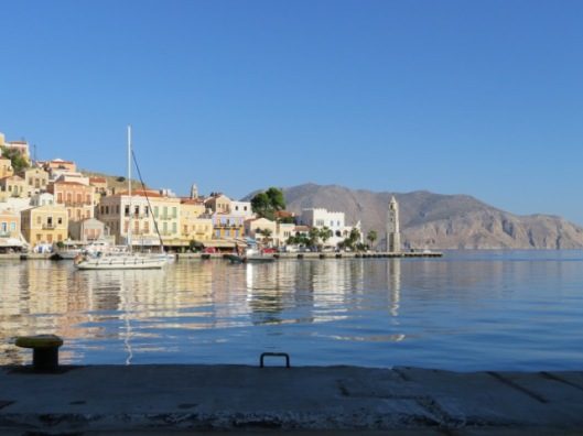 The beautiful port of Symi ©Sanne