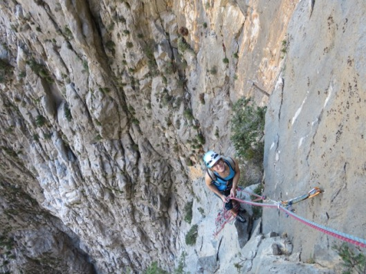 An on the belay ©Sanne