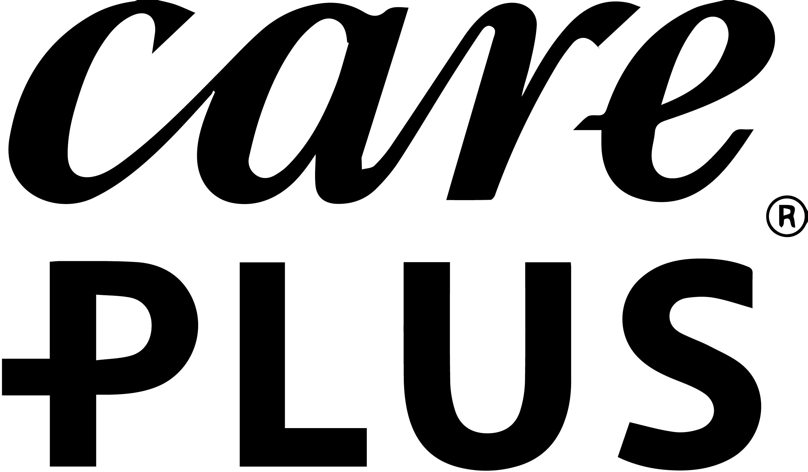 Care Plus logo zwart